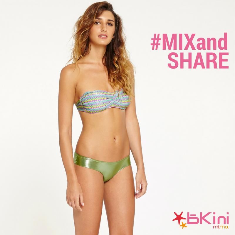 Bikini lancia la Promozione Mix & Share